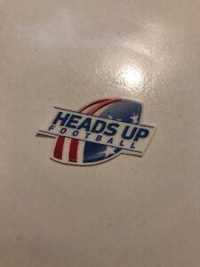 Heads-Up-Autocollant-Vinyle-Casque-de-football-autocollant