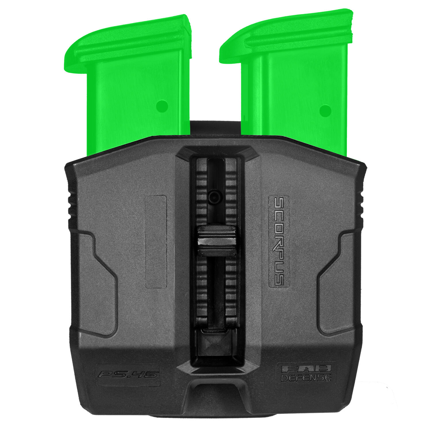 Double Magazine Pouch w  Swivel for Sig Sauer P250 .45 ACP, P227 - PS-45S