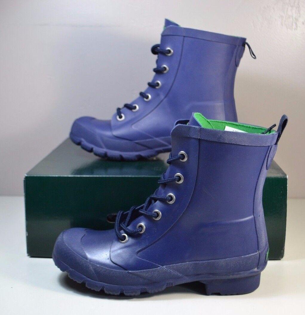 NIB MIKENNA WOMEN LAUREN RALPH LAUREN MIKENNA NIB MODERN NAVY DUCK RAIN Stiefel Schuhe SZ 5-10 e01c35