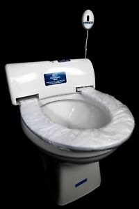 Pleasing Details About Automatic Toilet Seat Cover Fits Any Existing Toilet And Provides 100 Hygiene Machost Co Dining Chair Design Ideas Machostcouk
