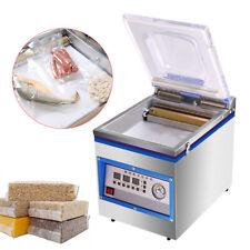 360w Vacuum Sealer Commercial Food Chamber Semi Vacuum Sealing Packing Machine