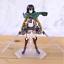 thumbnail 5 - Attack on Titan Action Figure Eren Mikasa Ackerman Levi Rivaille Figma PVC 13CM