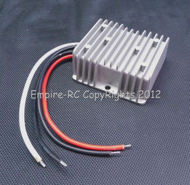 WaterProof DC (12V/24V to 6V) (30A) (180W) (STEP DOWN) Power Converter Regulator