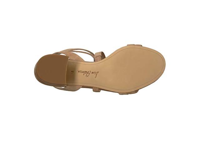 429c73f06e49 Sam Edelman Women s Size 6 Sammy Block Heel Sandals Camel Suede Ankle Strap  for sale online