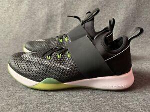 Nike-Zoom-Air-Max-WOMEN-039-S-SCARPE-TAGLIA-5-Nero-scarpe-basse-sneaker-con-UE-38-5