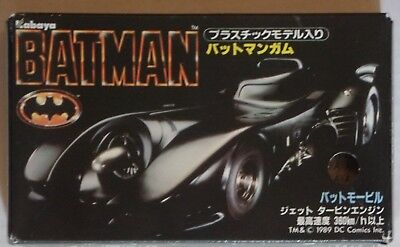 DC Comics BATMAN by Kabaya 1989 Mint Sealed in Box Japanese Cosmic Artifacts