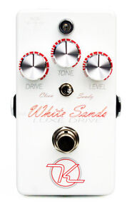 keeley electronics white sands luxe drive overdrive pedal ebay. Black Bedroom Furniture Sets. Home Design Ideas