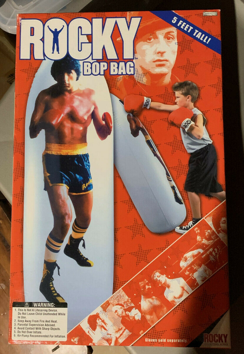Jakks Rocky Bop Bag (Extremely rare  ) (New in box- never opened)
