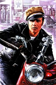 The wild one Marlon Brando item 1 movie poster print