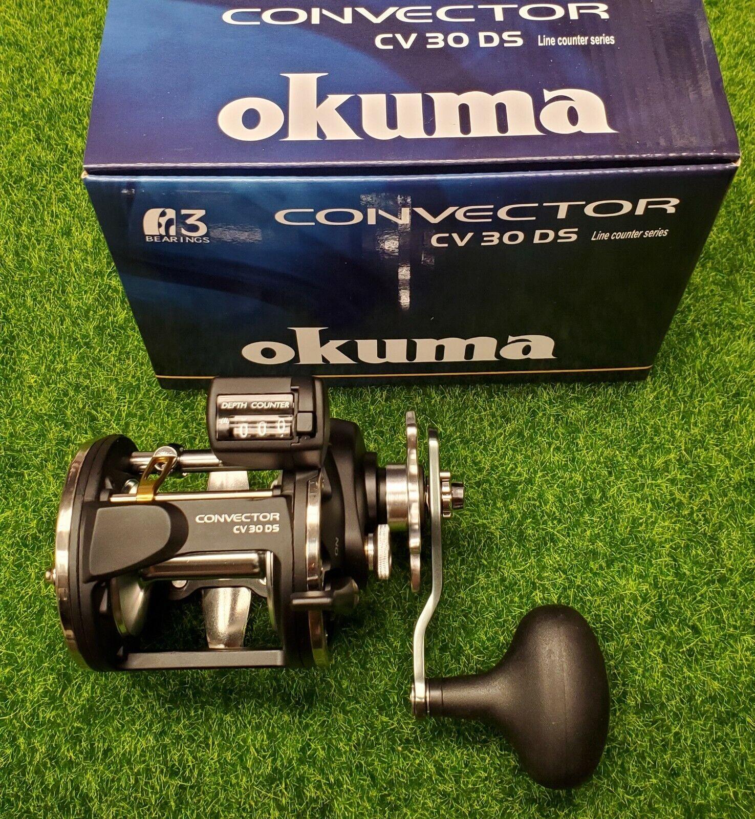Okuma Convector Drag Star Line Contador Rollo