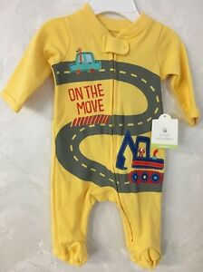 7d7e3d838 Boy`s-Pajamas-Newborn-Yellow-Small Wonders-New