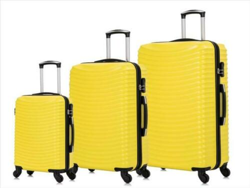 3tlg Coque rigide valise valise de voyage Set de valises Trolley Valise 20-28 In 1685