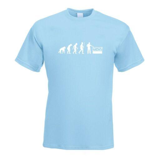 Aquariophilie Poisson Evolution T-Shirt Motif Impression Haut Fun Design Imprimé