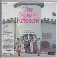 THe INGRAM KINGDOM The Funk Is In Our Music JAPAN mini lp cd Excello  KTIC-1013