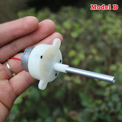 300 Gear Motor DC 3V-6V Slow Speed Mini Gearbox Speed Reducer Threaded Shaft