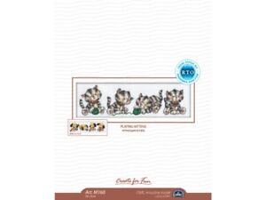 Counted Cross Stitch Kit  Four Kittens  M160 by RTO