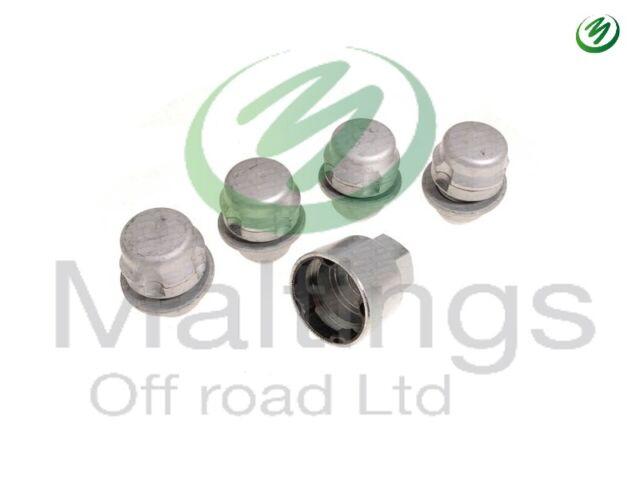 Land Rover New Genuine Set of 5 Locking Wheel Nuts LR078545