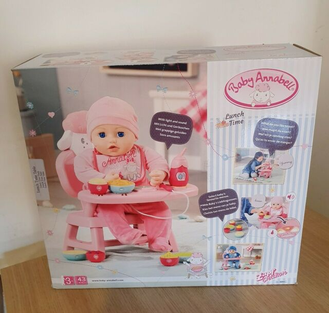 Baby Annabell 701911 Lunch Time Table Multi for sale ...