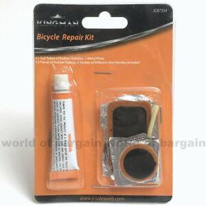 BIKE-Flat-Tire-Puncture-REPAIR-KIT-ATV-BMX-Bicycle-Inner-Interior-Tube-Patch-S41