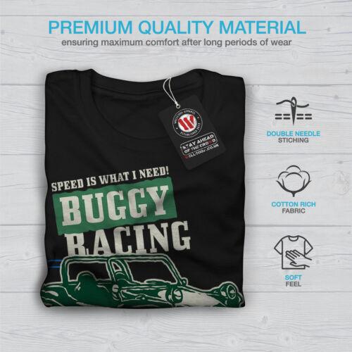Automobile Graphic Design Wellcoda Buggy Racing Mens Long Sleeve T-shirt
