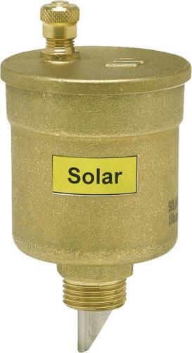 """Solar Schnellentlüfter automatischer Entlüfter WATTS 3//8/"""" AG Messing 150 ° C"""