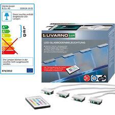 LED Glasboden Beleuchtung inkl. Fernbedienung für Vitrinen Einlegeböden