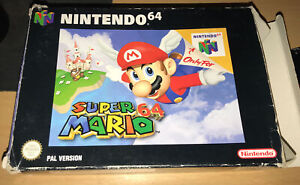Nintendo N64: Super Mario 64 - Boxed - Nice Condition, Complete W/ Instructions