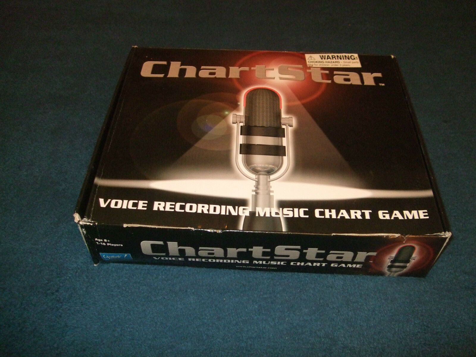 CHARTSTAR-THE FANTASTIC VOICE RECORDING MUSIC CHART GAME BY UPSTARTS