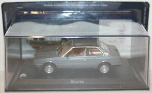 Altaya-1-43-Scale-Maserati-BiTurbo-1982-Met-Grey