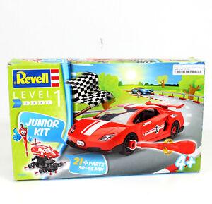 REVELL-Junior-Kit-Modell-Auto-Level-1-Car-Rennauto-Kinder-00800-Motorik-vv-37
