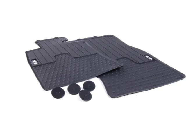 MINI Genuine Rear Cosmopolitan Floor Mats Set//Kit R56 51472213217