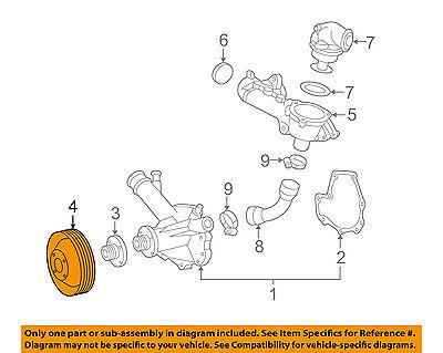 New Genuine Mercedes MERCEDES-BENZ OEM  Water Pump-Pulley 111 202 01 10