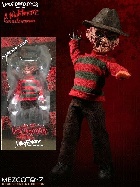 Mezco Living Dead Dolls Presents A Nightmare on Elm Street Talking FROTdy New