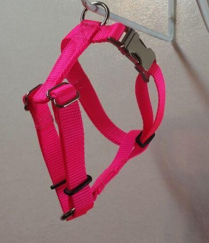 Fully Adjustable Dog Harness Metal Hardware USA Made  Durable