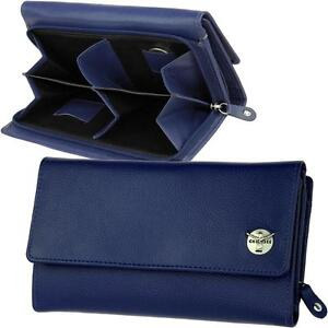 CHIEMSEE Damen Brieftasche Blau Geldbörse Geldbeutel Portemonnaie Geldtasche Neu