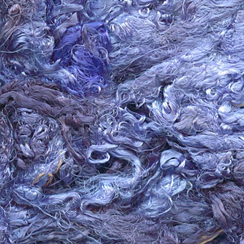 Hand-dyed Italian Silk Waste