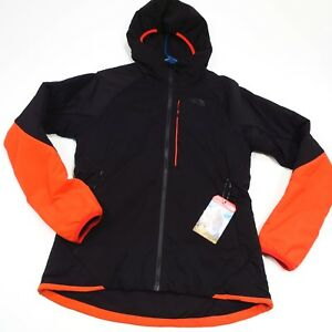 220-Women-039-s-North-Face-Ventrix-Hooded-Jacket-Size-Medium-Black-Red-NEW
