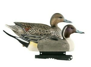 Duck-Decoys-Set-of-3-GHG-Pintail-2-Cocks-1-Hens-Wildfowling