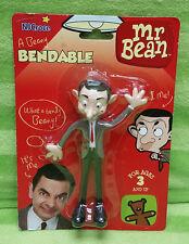 1990 NJ Croce Mr Bean Bendy Bendable Figure - MOC NEW - Rowan Atkinson
