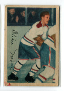 1953-54-PARKHURST-VINTAGE-COMMON-MONTREAL-CANADIENS-JAMES-DICKIE-MOORE