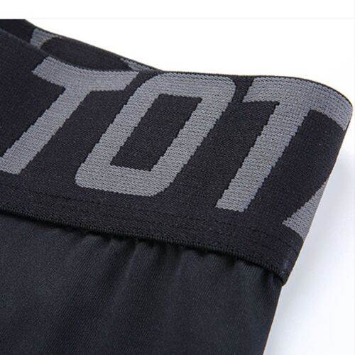 Short Compression Pants Base Layer Fitness Training Tights Sports Workout Mens