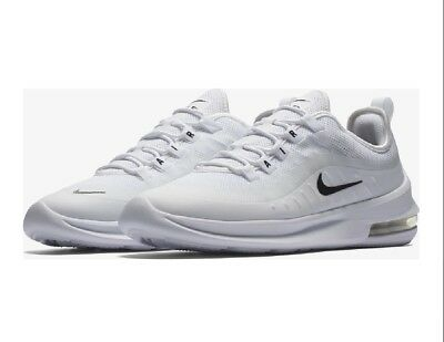 1f9b5d1b26a84 Mens Nike Air Max Axis Trainers Size UK 10.5 AA2146 100 White Black RRP £
