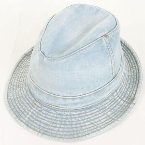 0c7fdb8f136 Newsboy Military Fedora Unisex Denim Hat Cotton Jean Cabbie Ivy Golf ...