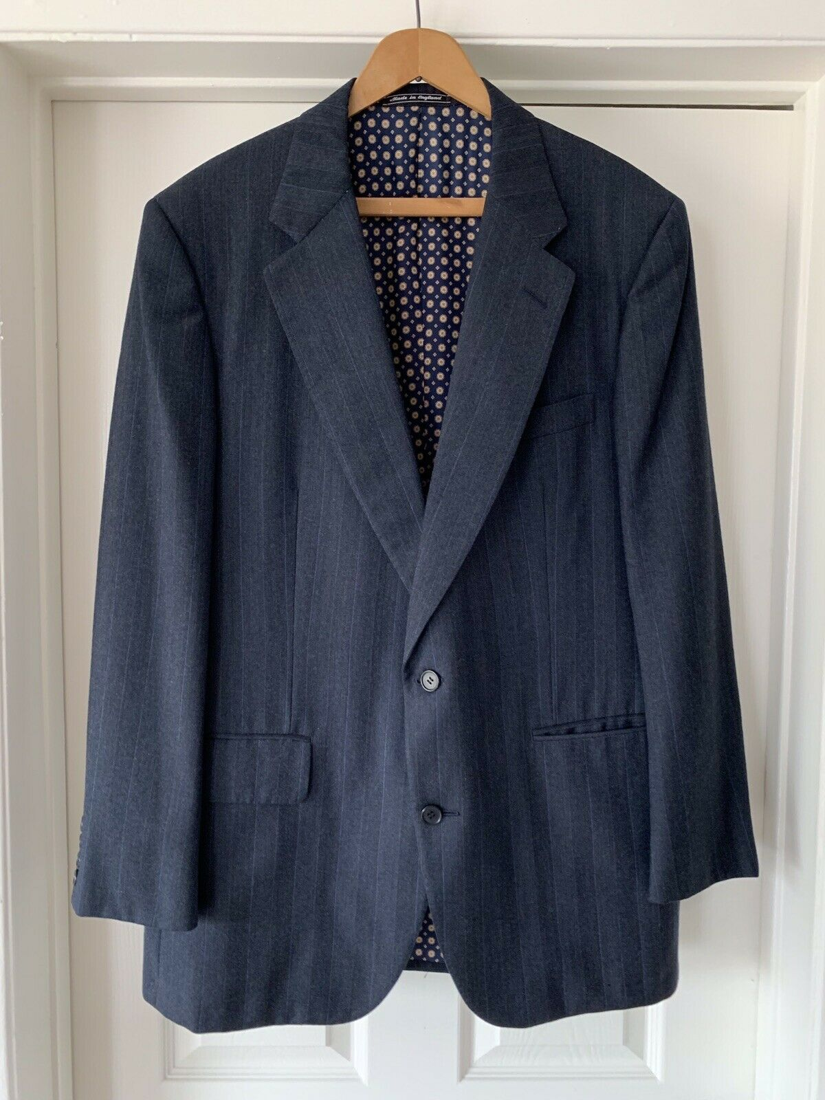 Carroll and Co Wool Blazer Hand Made In England