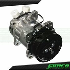 """New SD508 Sanden Style AC Compressor 7 Groove Serpentine 3/4"""" 7/8"""" A/C Ports"""
