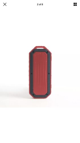 iPod Player Beach Bomb Waterproof Speaker Flame Red by Ijoy ...