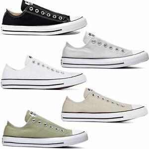 Converse-Chuck-Taylor-All-Star-Slip-Sneaker-da-Uomo-Pantofola-Stoff-Schuhe