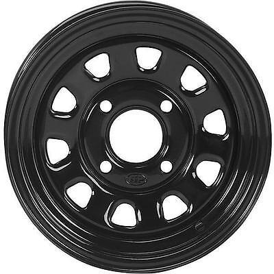 ITP front or rear - Delta Steel Wheel Black Front Rear D12F532 1225571014