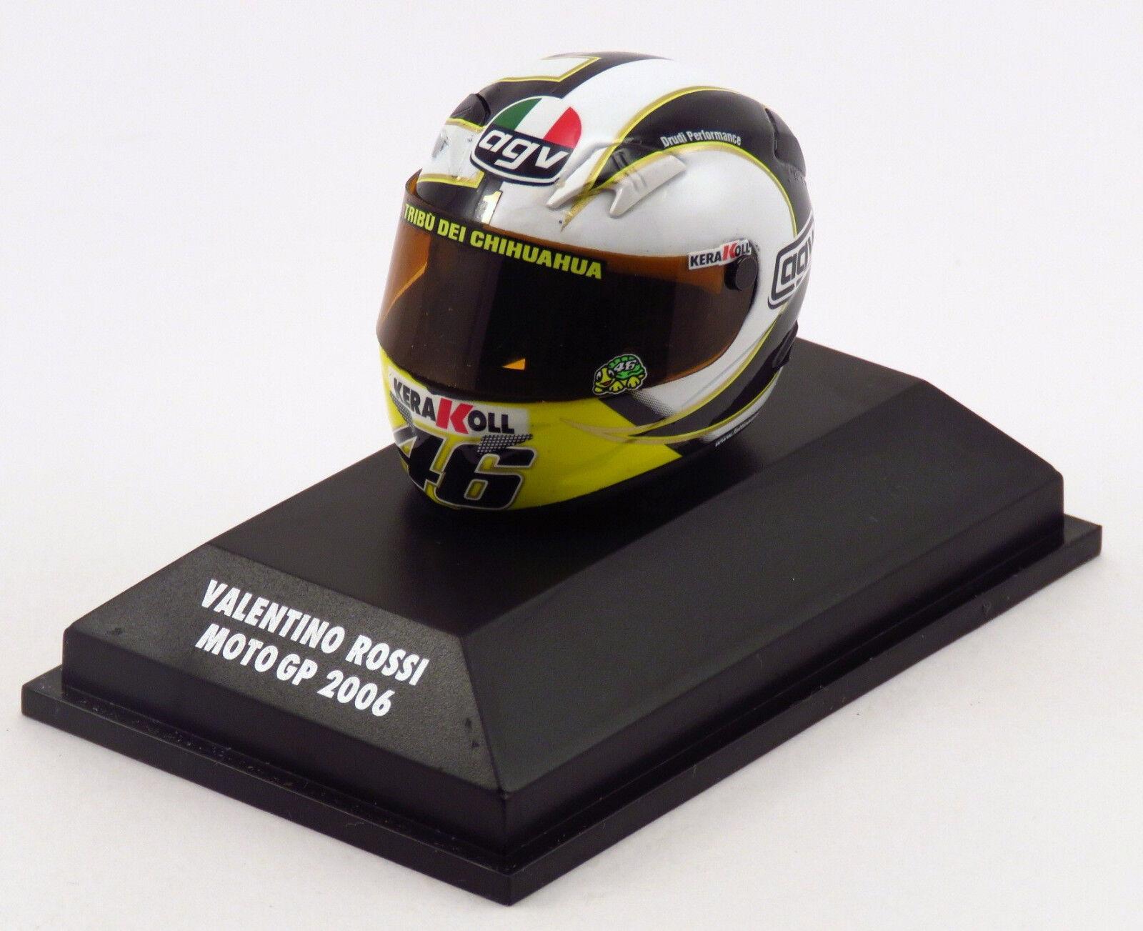 Con precio barato para obtener la mejor marca. Minichamps 397060046-Casco Agv Valentino Rossi MotoGP 2006 - - - 1 8  Sin impuestos