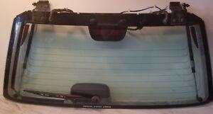 97 98 99 00 01 Honda Cr V Crv Complete Rear Back Window Glass Wiper Lift Struts Ebay